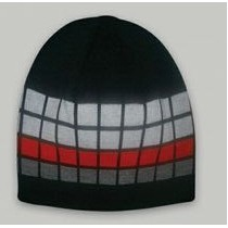Beanie Cap w/Color Blocks